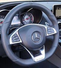 Mercedes-Benz OEM C190 AMG Gt Schwarz Perforiert Nappa Leder AMG Lenkung Rad