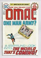 OMAC 1 VF + 8.5 CONDITION 1ST APPEARANCE BRONZE AGE DC JACK KIRBY   KEY ISSUE