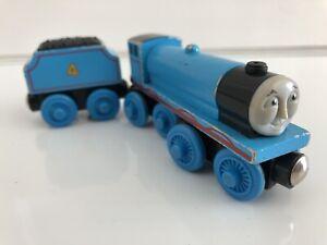 Thomas Wooden Railway Gordon 2000 Britt Allcroft Engine Tender Train Set GUC