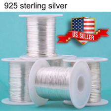 925 Sterling Silver wire Dead Soft Round 12 14 16 18 20 22 24 26 28 30 32 Gauge