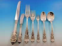 Sir Christopher by Wallace Sterling Silver Flatware Set Service 68 Pieces Dinner