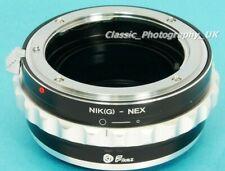Nikon F Ai NIKKOR Ai-S Lenses to Sony ALPHA 7R III / SONY A7s E-Mount Adapter