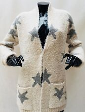 Tommy Hilgiger Women's Cardigan STAR PANT creamy with grey stars S/M