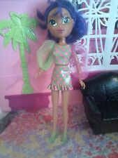 "LISA FRANK Fab Friends MARA Rare 10"" Purple Hair AA baby doll no Clothes Shoes"