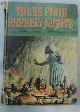Vintage Book Tales From The Arabian Nights Book - Sheherazade and King Shahriar
