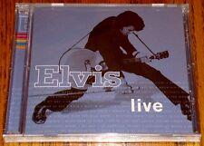 ELVIS LIVE CD SEALED !   ELVIS PRESLEY!