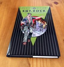 Sgt. Rock Archives vol. 1 HC first print (DC)
