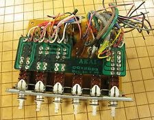 Akai GXC-730D Cassette Deck Repair Part - PCB Board CQ-2003 w/ Tape Switches