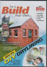 How To Build,  - Noel Marshall DVD  & Bonus DVD Dry Lining
