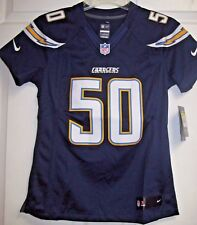 Nike San Diego Chargers #50 Te'o Game Jersey, Size Small, New w/Tags