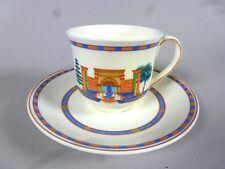 """Villeroy & boch: tasse à café avec soucoupe """"via tuscolana"""" 5qm833"""
