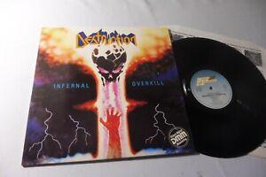 Destruction - Infernal Overkill VINYL LP FIRST PRESS 1985 ! Vinyl RAR!