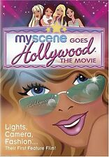 My Scene Goes Hollywood (DVD, 2005) RARE OOP HTF BRAND NEW / A BARBIE PRODUCTION