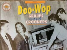 DOO-WOP GROUPS and CROONERS CD, 1996 Javelin UK Import, Crown Collection