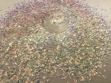 Hermoso brillo Mezcla perlas escalas de pescado para Arte en Uñas Acrílico y Gel de aplicación