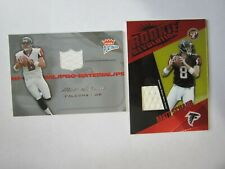 Matt Schaub 2004 Topps Pristine 2004 Fleer Platinum 2 Card Jersey Lot (B5)