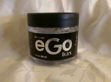 Hair GEL For MEN eGo Black 17.6 Oz(500mL) Male Fragrance Extra STRONG No Alcohol