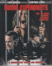 HUMAN EXPERIMENTS horror *BLU-RAY NEW + SLIPCOVER* Scorpion WOMEN IN PRISON cult