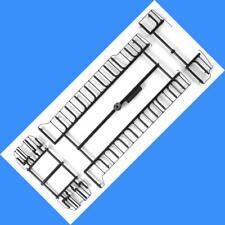 GP38-2  Handrails  CSX GRAY (Plastic Version)  Athearn - HO SCALE
