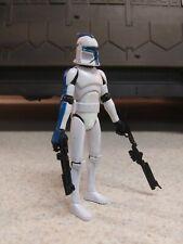 Star Wars Clone Wars 501st Clone Trooper Hasbro 2008 Wal-Mart Exclusive