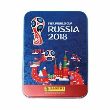 Fifa World Cup Russia 2018 ~ Panini Sticker Collection ~ Pocket Tin Inc 15 Packs