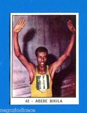 CAMPIONI DELLO SPORT 1966/67 - Figurina/Sticker n. 42 - ABEBE BIKILA -Rec