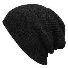 Baggy Beanie Hat Knitted Ski Slouchy Cap Skull Warm Winter For Men Women