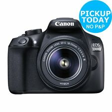 Canon EOS 1300D 3 Inch 18MP 1080p DSLR Camera with 18-55mm Lens - Argos eBay