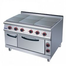 Electric hotplate with oven