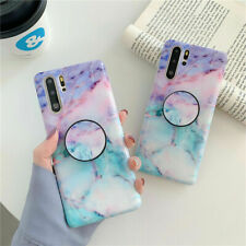 Sky Marble Phone Case Cover For IPhone 7 8 Plus XR XS 11 12 PRO MAX Stand Holder