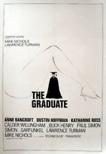 The Graduate (1967) Dustin Hoffman Comedy Vintage-Style 12x18 Movie Poster Print