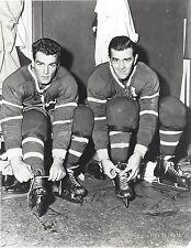 MAURICE & HENRI RICHARD 8X10 PHOTO HOCKEY MONTREAL CANADIENS NHL PICTURE