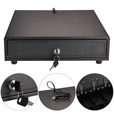 More details for new 4 bills 5 coins tray heavy duty cash drawer cash register pos till box