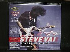 STEVE VAI Stillness In Motion-Live In Los Angeles BSCD2 JAPAN 2CD Whitesnake