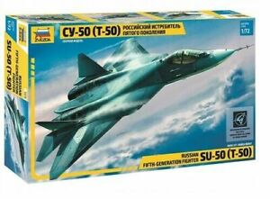 Zvezda Models 1/72 Russian 5th Fighter Sukhoi S-57 (T-50)