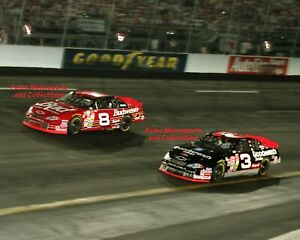 DALE EARNHARDT JR vs SR NO BULL FIVE MILLION 2000 PHOTO NASCAR WINSTON CUP CHEVY