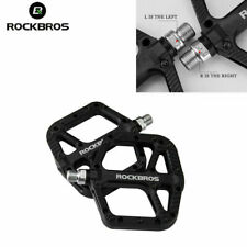ROCKBROS Mountain Bike Bicycle Bearing Pedals Wide Nylon Pedals a Pair Black
