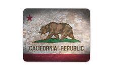 Bandera rústica de California Ratón Mat Pad-Cali Computadora Pc De Regalo De América EE. UU. #8486