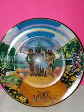 Wizard Of Oz Franklin Mint Plate Snow Dome