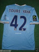 Manchester City 2014 Toure Yaya Match Unworn Shirt