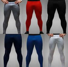 XYW Mens Tight Base Layer Pants Long Leggings Thermal Compression Under Trousers