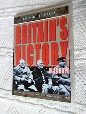 BRITAIN'S VICTORY IN EUROPE – DVD, R: 2+4, LIKE NEW, FREE POST WITHIN AUSTRALIA