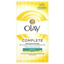 Olay SPF15 Complete Lightweight 3-in-1 Moisturiser Day Fluid Sensitive 100ml