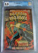 MARVEL SUPER-HEROES #13 CGC 3.5 1ST CAROL DANVERS