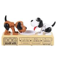 Hungry Eating Dog Banco Canino Money Box Money Bank Stole Coin Piggy Bank N#S7