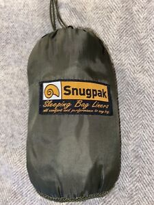 Snugpak Thermalon Sleeping Bag Liner Green RRP £25