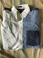 J. Crew Color Block Oxford Shirt Slim Fit Small $79.50