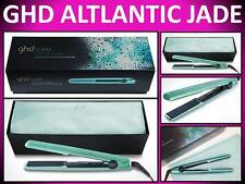 "NEW! GHD GOLD ATLANTIC JADE 1"" HAIR STRAIGHTENER FLAT IRON STYLER GIFT SET & BAG"