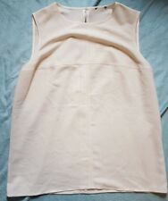 Vintage Ladies CHANEL Uniform Tank Top Blouse Size: Large VERY GOOD Condition