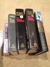 """4 Robert Ludlum """"Bourne"""" Books !! - 4 Hardcovers With Jackets + 1 Paperback !!"""